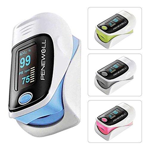 PulsiOxímetro de dedo y monitor de frecuencia cardíaca PeneWell®