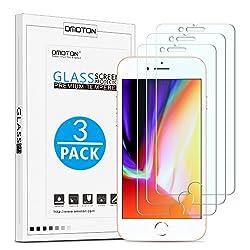 Kaufen OMOTON [3 Stück] Panzerglas Schutzfolie für iPhone 7 iPhone 8, 9H Härte, Anti-Kratzen, Anti-Öl, Anti-Bläschen