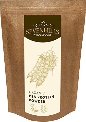 Sevenhills Wholefoods Erbsen Protein Pulver Bio 1kg