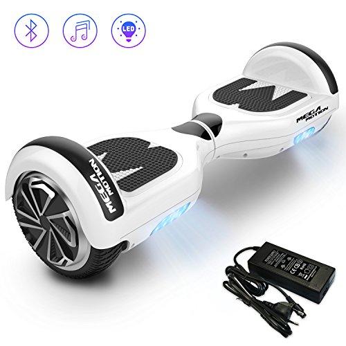 Mega Motion Self Balance Scooter E1- Gyropode électrique 6.5' -Bluetooth