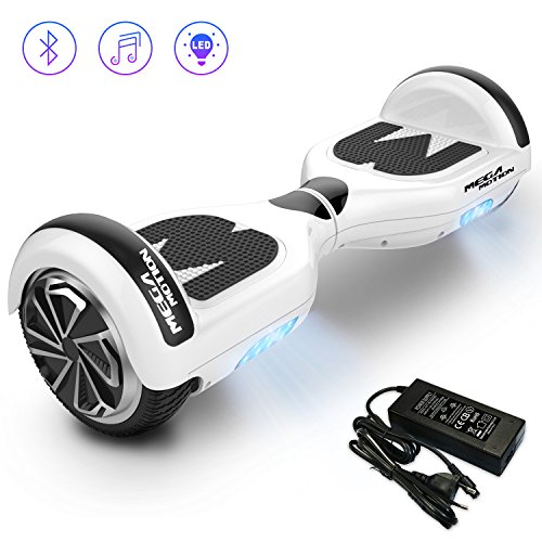 Mega Motion Self Balance Scooter Elettrico E1-6.5' Elettrico Segway - Bluetooth - [Sicurezza UL CE]