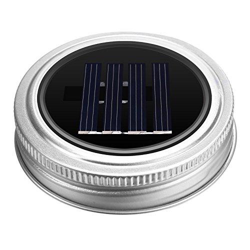 Homdox Solar LED Hängeleuchte Laterne Leuchte im Einmachglas Sun Jar - 5