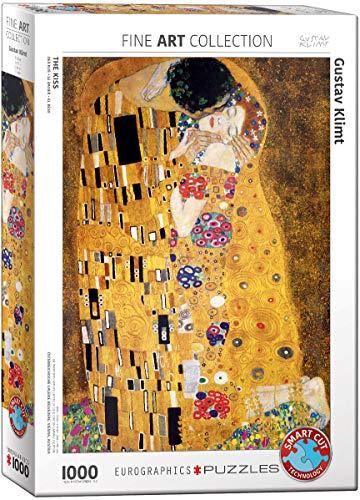 Jigsaw Puzzle 1000 pezzi 19.25 'X26.5' - Klimt - il bacio