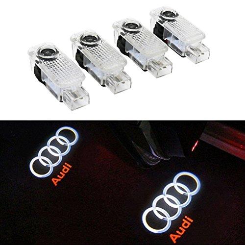 Inlink 4 X LED Logo del Portello di Automobile di Illuminazione Entrata Proiettore Ombra di...
