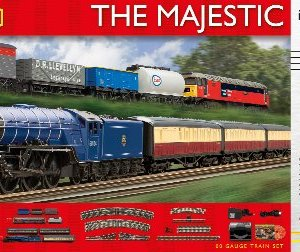 Hornby The Majestic With E-Link Dcc 00 Gauge Electric Train Set 51c7aMS NwL