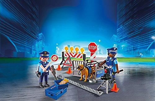 PLAYMOBIL 6878 – Polizei-Straßensperre - 2
