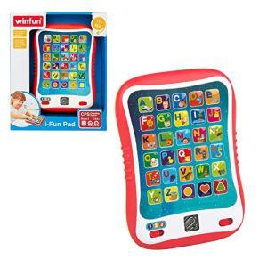 WinFun - Tableta educativa con luz y sonidos (ColorBaby 44256)
