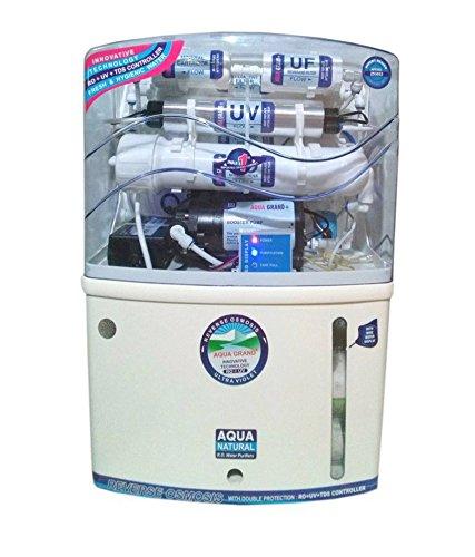 Florentine Aquagrand plus, ''7'' Stage Purification, 15 liter, RO + UV + UF Water Purifier, White