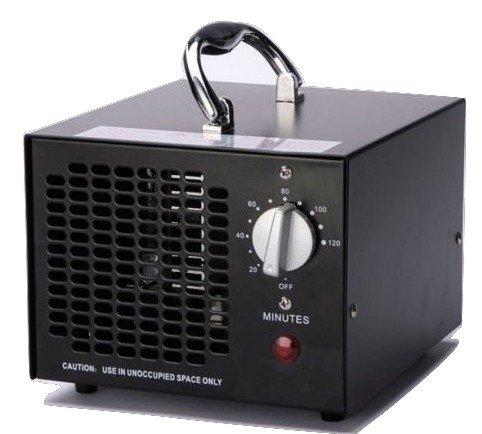 Air Cleaner Commerciale dell'ozono generatore 3500mg industriale O3 deodorante sterilizzatore Nero