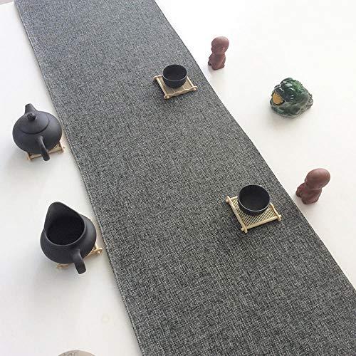 Lisifei Bandiera da Tavolo Bandiera del tè Rosso Zen tavolino Tavolo da Pranzo Mobile Porta TV...