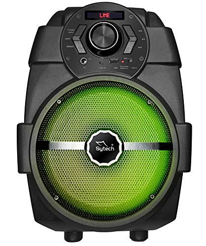 SYTECH SYXT12BT - Altavoz Portátil Inalámbrico Bluetooth con Radio FM y Batería Recargable