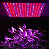 DECKEY 15 W Lampara Crecimiento de Plantas 225 LEDs Panel Led Cultivo Iluminacion para las plantas de interior flores y verduras 990lm