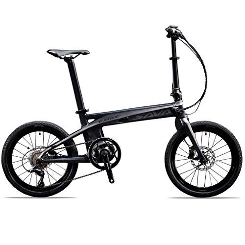 SAVADECK-E8-Vlo-lectrique-Fibre-de-carbone--bicyclette-pliante-de-20-36V-200W-Bicyclette-pliante-Pedelec--pdale-avec-SHIMANO-SORA-9-vitesses-et-batterie-amovible-36V-87Ah-SAMSUNG-Li-ion