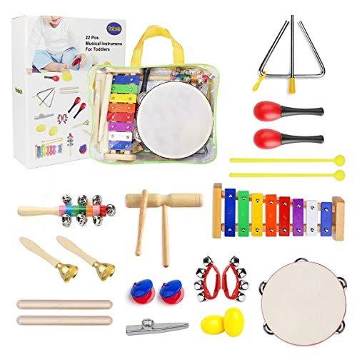 Kit instrumentos infantiles 13 en 1
