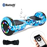"""Windgoo Hoverboard 6.5"""" Balance Board Patinete Eléctrico Scooter Talla LED 350W*2 (Hip-Hop)"""