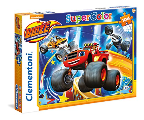 Clementoni 27972 - Puzzle Blaze And The Monster Machines, 104 Pezzi