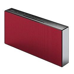 Kaufen Sony CMTX3CDR.CEL Micro-HiFi System (CD, USB, Bluetooth, 20 Watt) rot