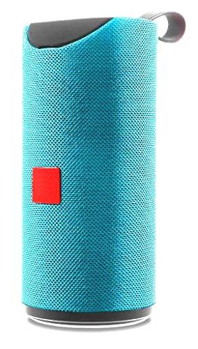 Aerizo JT-113 Waterproof Bluetooth Bass Speaker | USB Port | Mic | Hands-Free Call for iPod, PC & Smartphone Device (Random Colour)