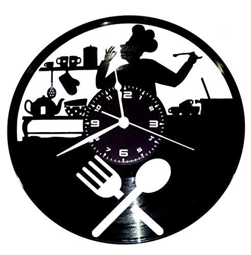 Instant Karma Orologio in Vinile da Parete Disco LP 33 Giri Idea Regalo Vintage Handmade - CUCINA CHEF CASA ARREDAMENTO