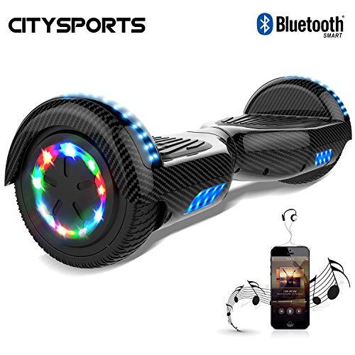 CITYSPORTS Hoverboard 6.5 Pollici, Bluetooth Scooter Auto bilanciamento, Scooter Elettrico...