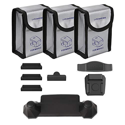 O'woda Accessori combinati: Borse Lipo Battery + Protezione in silicone + Rocker Protector +...