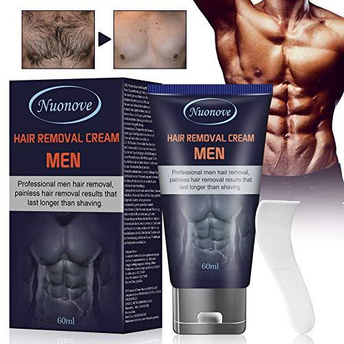 Crema Depilatoria Uomo, Crema Depilatoria, Hair Removal Cream, Crema Depilatoria per uomo, Indolore...