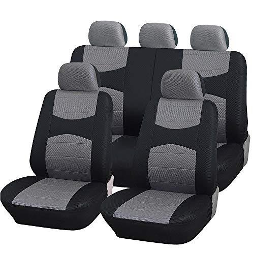 Coprisedili Auto universali con Copri Volante e Copri Cintura in Tinta con i sedili - A19 - per Auto...