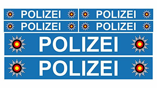 aufkleber polizei test 2018 produkt vergleich video ratgeber. Black Bedroom Furniture Sets. Home Design Ideas