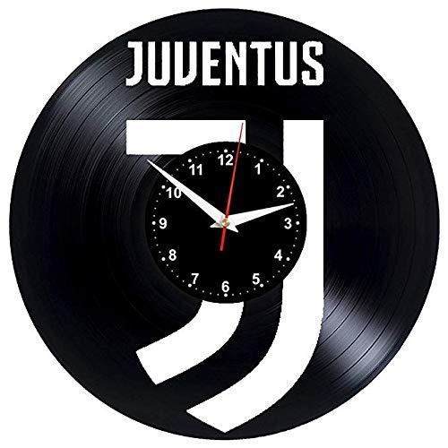 WCZZH Juventus Orologio da Parete Vinyl Record Vinyl Clock Juventus