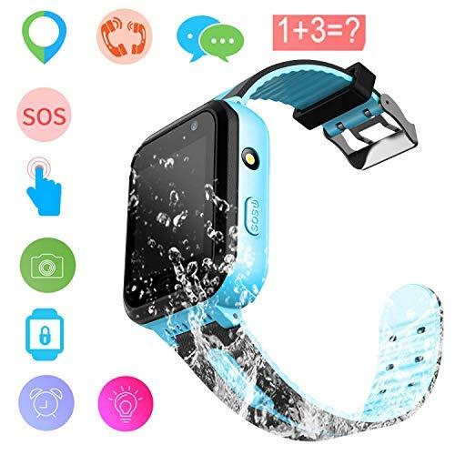 Kids Smart Watch GPS Tracker impermeabile - Orologio da polso da bambino Orologio digitale da polso...