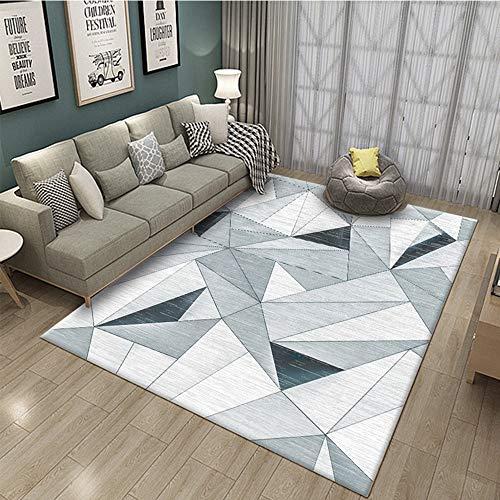 Tappeto nordico, tappeto astratto soggiorno divano tavolino Tappeto decorazioni per la casa Tappeto...