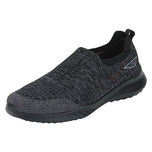 Red Tape Mens Black Running Shoes 8 Uk India 42 Eursc0231