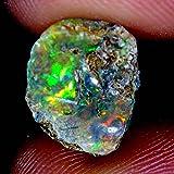 01.85CTS 100% naturale eccellente multi ruvida brillante opale etiope pietra preziosa