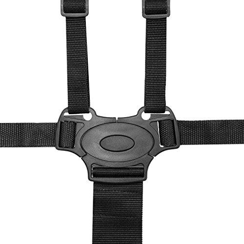 HBF Cintura Sicurezza Bambini per Sedia con Imbottitura delle Spalle Cintura Passeggino