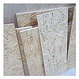 1m² saldi di 9mm OSB/3 Pannelli a scaglie orientate tagliati a uso luogo umido nella norma DIN EN 300 scampoli di pannelli strutturali di legno