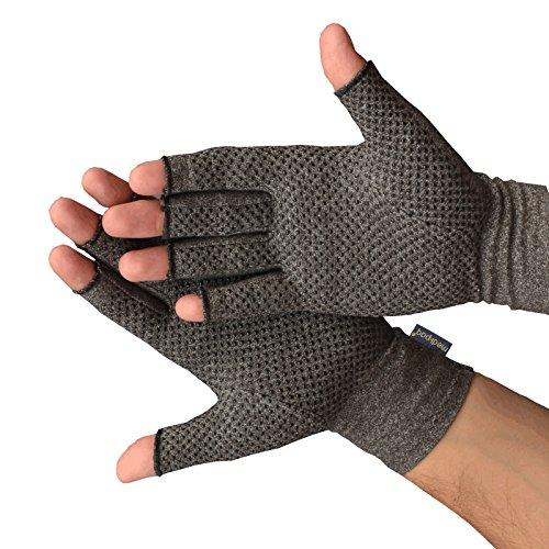 Guanti Anti-Artrite Medipaq (Paio) – Provvedono al calore e compressione per aiutare a aumentare...