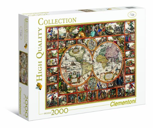 Clementoni 32551 - Magna Charta - Puzzle High Quality Collection 2000 pezzi
