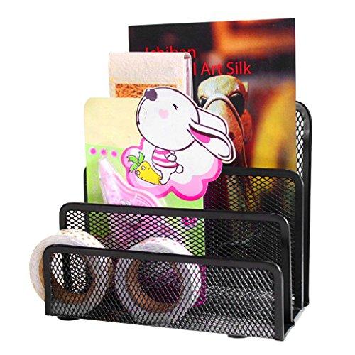 Briefhalter Duschablage Organizer Büro Mesh 3Schichten Vertikale Ordnungsmappe Papierkorb Buchstaben Aktentasche Ablage Ordner Papier carte-visite Style 1