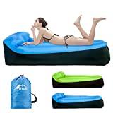 Inflatable Lounger,Bfull Latest Extended Version 200*75*55cm Waterproof Air Sofa with Carry Bag,Inflatable Couch Air loungers for Indoor/Outdoor Camping,Beach,Swimming Pools,Park,Garden,Travelling