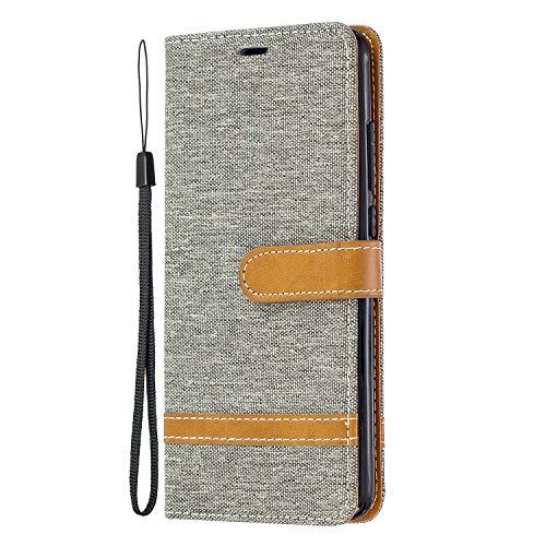 Docrax Xiaomi Mi 9T/Redmi K20 Leather Cover, Custodia Portafoglio in Pelle Porta Carte Funzione di...