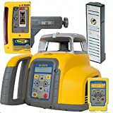 Spectra Precision GL422N-14 GL422N Grade Laser with RC402N Remote, CR600 Receiver, C50, C51 Magnetic Clamp and Recharge Kit, Yellow