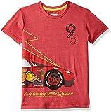 Disney Pixar Cars Boys' Plain Regular Fit T-Shirt