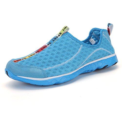 DoGeek Scarpe da Mare Water Shoes Ciabatte Scarpe Running Nero Giardini Acqua Scarpe Donna da Pantofole Spiaggia Pelle Sandali