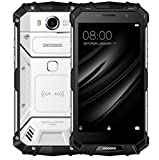 "DOOGEE S60 IP68 Smartphone libre - Impermeable Antipolvo Antigolpes 4G Android 7.0 Nougat Resistente Móvil libre, 5.2""HD, Helio P25 Octa-core, 6GB RAM+64GB ROM -Plata"