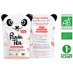 Panda Tea - Morning boost - 28 sachets coton
