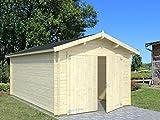 Box Casitas de madera caseta de jardín de madera de abeto (34mm)–cm 350x 530cm–italfrom21