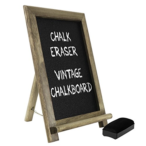 Healifty Chalkboard Signs free standing vintage lavagna con supporto per bar ristorante casa