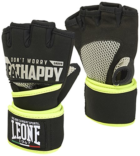 Leone 1947 Power, Guanti da Fit Boxe Unisex – Adulto, Nero, S