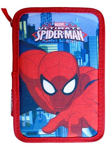 Paxos 82946astuccio triplo scomparto tessuto 13x 20x 6cm-Spiderman