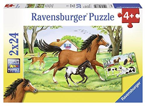 Ravensburger Italy Cavalli 2 Puzzle da 24 Pezzi,, 8882